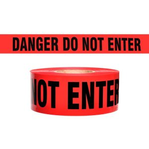 DANGER DO NOT ENTER Tape Roll 1,000′