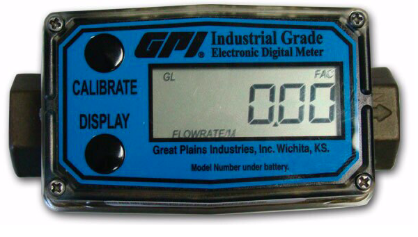 GPI Flowmeter/Totalizer