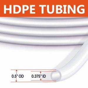HDPE Tubing 1/2″ OD Low Flow Tubing