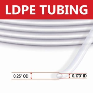LDPE Tubing 1/4″ OD VOC Tubing