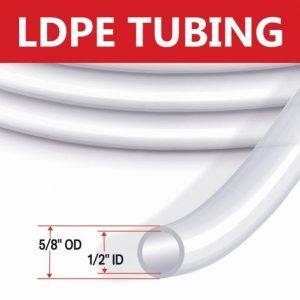 HDPE Tubing 5/8″ OD Standard Flow Tubing