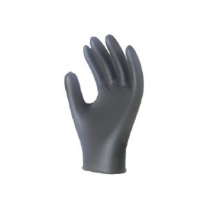 Sentron4 Black Nitrile Gloves