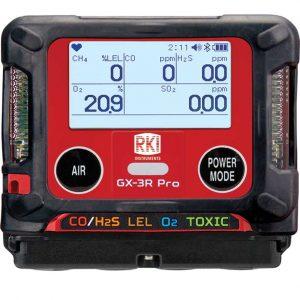 RKI GX-3R Pro Gas Detector with Wireless Communication