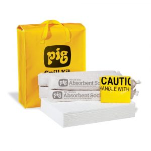 Pig Oil-Only Spill Kit in High-Visibility Bag