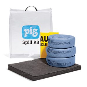 Pig Spill Kit in See-Thru Bag